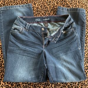 Lane Bryant lightly flared jeans size 16
